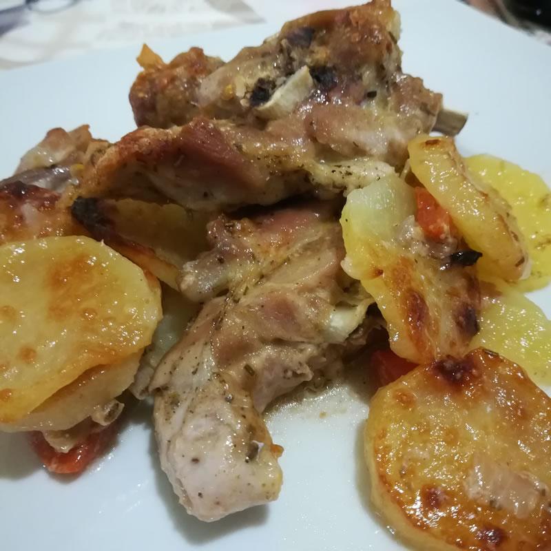 Agnello con le patate - Marco Massaro